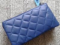 Кошелек-клатч кожаный стеганый фирмы SWAN , фото 1