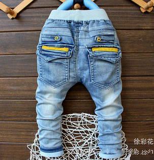 Джинсы для мальчиков синие 5924, фото 2