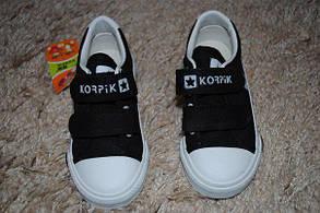 Кроссовки детские черные 6217, фото 2