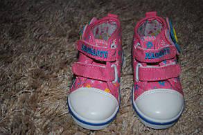 Кроссовки детские розовые с зайчиком 6275, фото 2