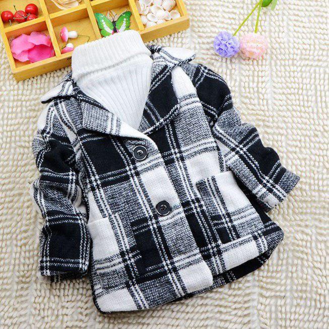 Стильное детское пальто для мальчиков весна осень 120 размер