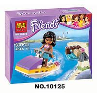 Конструктор лего девочка на скутере BELA FRIENDS код: 10125