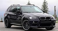 Пороги подножки боковые BMW X5 E70