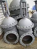 Засувка сталева 30с941нж Ду300 Ру16 під електропривод, фото 4