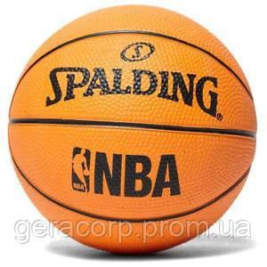 Баскетбольный мяч Spalding NBA Miniball Basketball, фото 2
