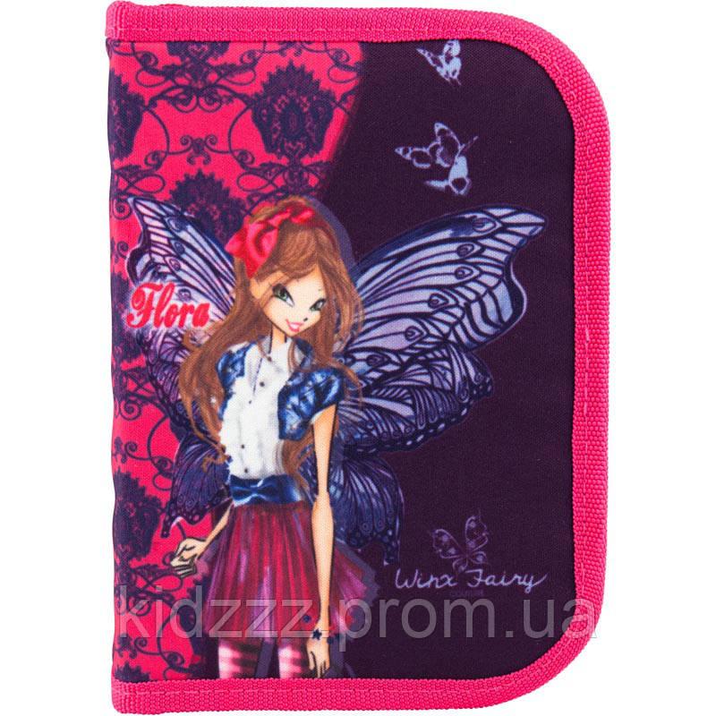 Школьный пенал Winx Fairy couture Винкс Флора  Kite (Кайт)