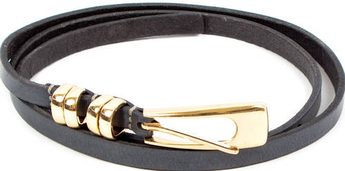 Красивый женский кожаный узкий ремень ETERNO (ЭТЕРНО) A2002-10-grey