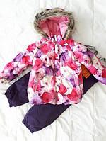 Зимний костюм для девочки Lenne MIIA 18313-1799. Размер 92.