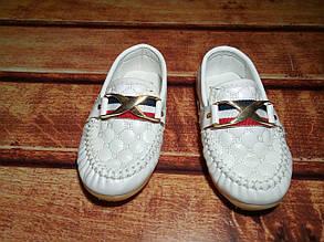 Туфли детские белые 20005, фото 2