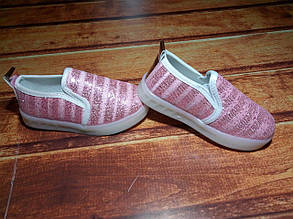Туфли детские красные светятся 7679, фото 2