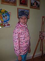 Куртка-ветровка для маленьких модниц (1607/41)