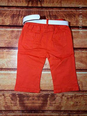 Бриджы для мальчиков оранжевые 7653, фото 2