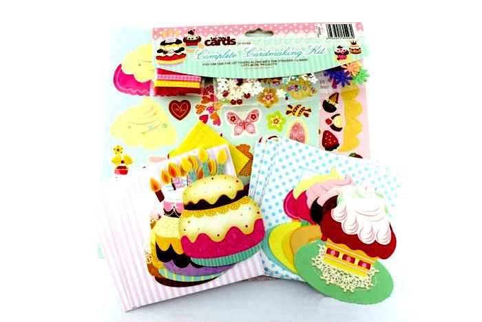 Handmade набор для изготовления открыток Капкейки