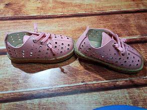 Туфли детские экокожа розовые 7817, фото 2