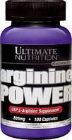 Аминокислоты Ultimate Nutrition Arginine power (100 капсул)