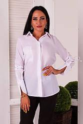 Рубашка женская длинный рукав