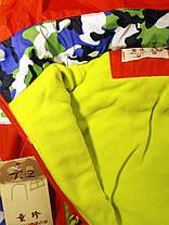 Курточка детская осенняя на мальчика оранжевая , фото 3