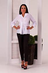 Стильная женская рубашка на завязках(на шнуровке)