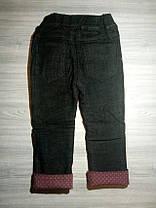 Джинсы для девочек утепленные 9184, фото 2