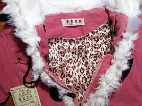 Пальто для девочек демисезонное 9210, фото 2