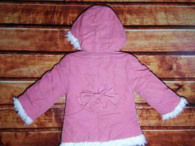 Пальто для девочек демисезонное 9210, фото 3