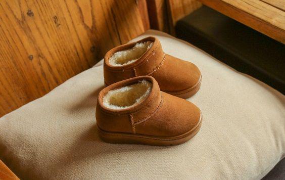 Угги детские зимние коричневые 29 размер