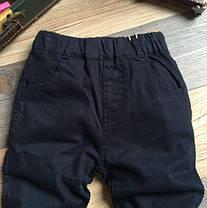 Штаны для мальчиков на весну темно-синие, фото 3