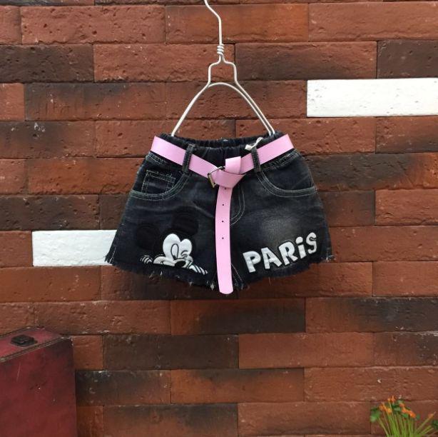 Шорты для девочек джинсовые Paris