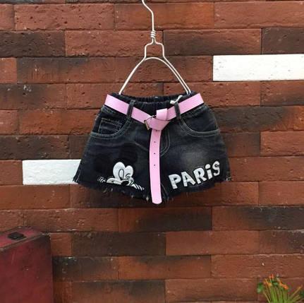 Шорты для девочек джинсовые Paris, фото 2