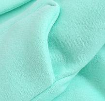 Пальто для девочек на весну с бантиком бирюзовое 1-1.5 лет, фото 2