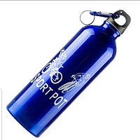 Бутылка для воды металлический  750мл, фото 1