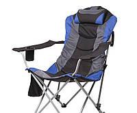 Кресло Vitan Директор d=19 мм (Синий) 5990