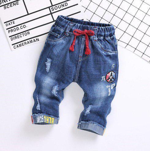Бриджи для мальчиков джинсовые Love 3,5,6 лет