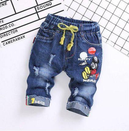 Бриджи для мальчиков джинсовые Happy, фото 2