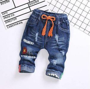 Бриджи для мальчиков джинсовые Toughest, фото 2
