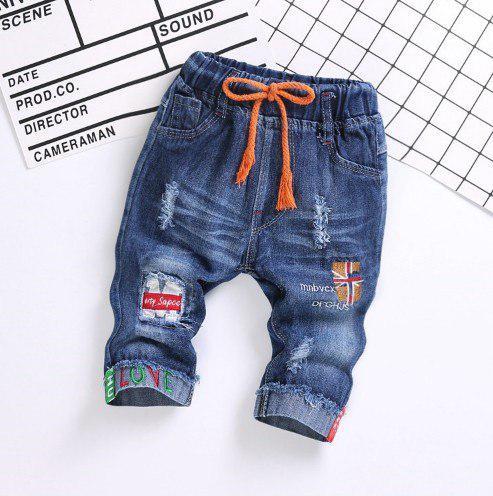 Бриджи для мальчиков джинсовые Sapse