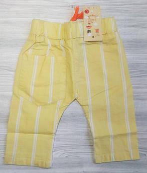 Бриджи для мальчиков хлопок желтые, фото 2