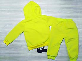 Утепленный костюм для мальчиков Губка Боб салатовый, фото 3