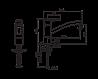 Смеситель для кухни Oras Saga 3930F с поворотным изливом и аэратором., фото 2