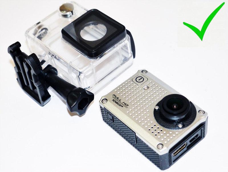 Видеорегистратор Экшн камера Action Camcorder S30 с микрофоном