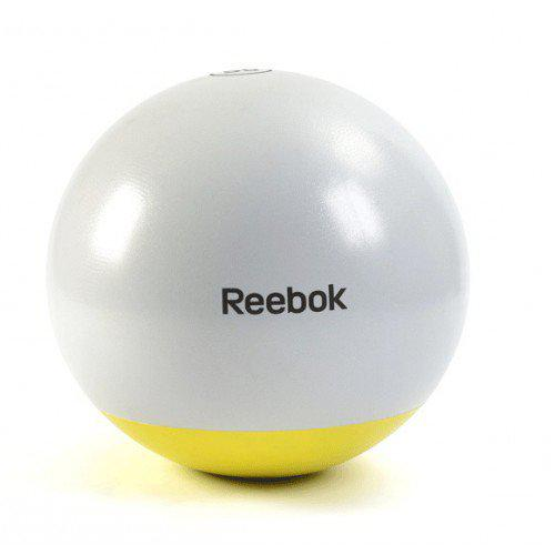 Мяч гимнастический Reebok RSB-10016 - 65 см серый/желтый