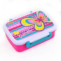"""Контейнер для еды """"Bright butterfly"""", 420 мл, с разделителем"""