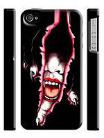 Чехол для iPhone 4/4s/5/5s/5с  вампир девушка