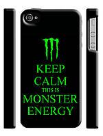 Чехол для iPhone 4/4s/5/5s/5с monster energy