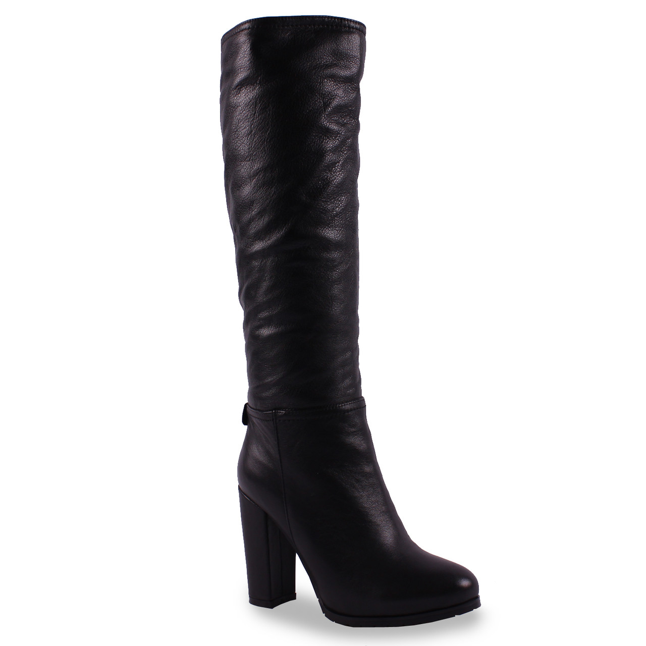 Стильные женские сапоги Lilimars (натуральная кожа, на каблуке, на замке,  стильные, 53dc10bc5be