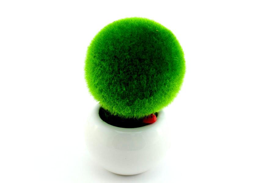 Декоративный вазон шар
