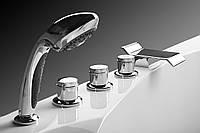 Установка врезного смесителя на ванну