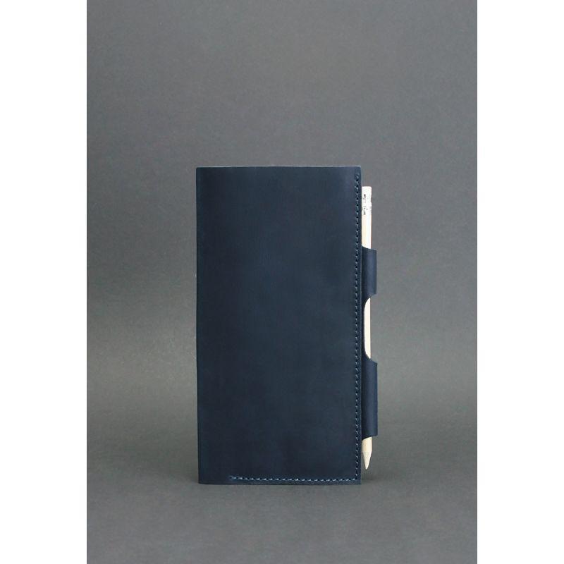 Кожаный тревел-кейс 3.0 синий, фото 1
