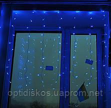 Гирлянда Водопад 120 LED (белая, голубая), фото 3