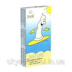 Презервативы Amor Nature 52мм./53мм. упаковка 100 штук Природа